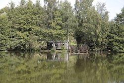 Etang de pêche, mobil-home location AUTHENTIQUE