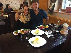 Gostoso almoço iraniano no Palácio