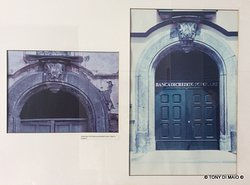 vecchie foto dello stato dei luoghi del dopoguerra