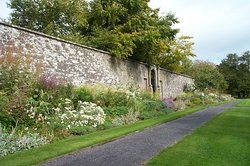 Walled garden protecting the natural beauty which lies inside.