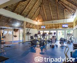 Fitness Center at the Iberostar Costa Dorada