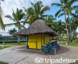 Bikes at the Caribe Club Princess Beach Resort & Spa