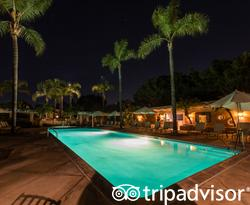 The Main Pool at the Rancho Valencia Resort & Spa