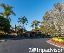 Grounds at the Rancho Valencia Resort & Spa