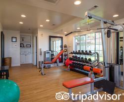 Fitness Center at the Hotel Milo Santa Barbara