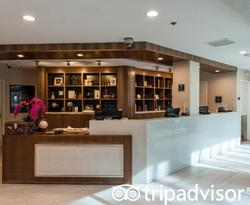 Front Desk at the Four Points by Sheraton Anaheim