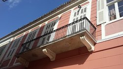 The balcony of Erato room