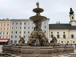 Beautiful fountain in beautiful location