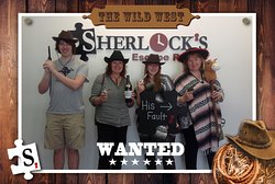 Escape room fun and adventures at Sherlock's in Florence, KY!