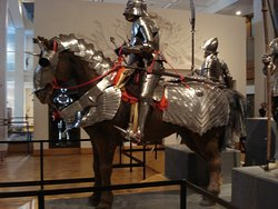 Display of armour.