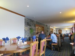 Interior of Doune Braes Hotel restaurant