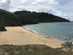 Quiet sandy beach