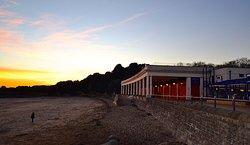 Whitmore Bay, sunset.