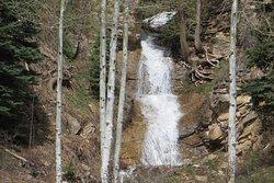 Waterfall. Purgatory Resort, CO. Memorial weekend 2019.