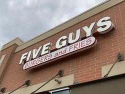 Five Guys Burger - outside - Adams Rd, Rochester Hills, MI