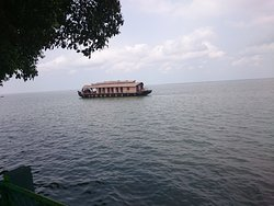 we can see house boats going frequently