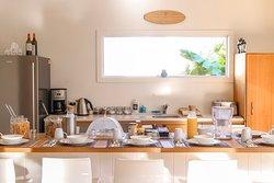 The Palms Breakfast area