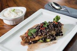 Asian Deep- Fried  Grouper fish Fillet