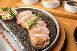 Grilled  Duck Breast.