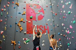 Push Rock Climbing