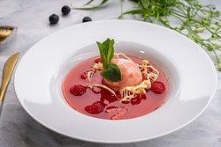 суп «Апероль» с малиной (180г)