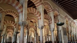 Inside Mosque-Cathedral of Córdoba