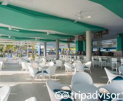 Beach Bar at the Hotel Riu Palace Punta Cana