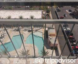 The Pool View Double at the Hooters Casino Hotel