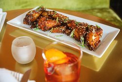 Sweet and Spicy Cilantro Wings