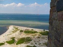 Ausblick aus 58 Meter Höhe