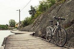 Guided bike tour around Vaxholm