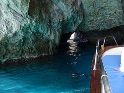 Capri coast, Grotta Verde