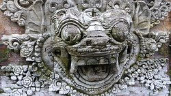 Ornate stone carving
