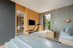 Double Grand Pool Villa - Living Room