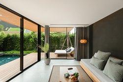 Garden Pool Villa - Living Room