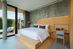 Garden Pool Villa - Bedroom