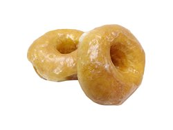 Our Glazed donuts as with all our donuts are made by scratch everyday.