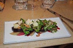 Randen Salat mit Käse