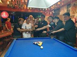 Pool league winners