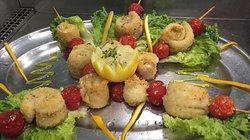 Spiedini al branzino (specialità dello chef 👨🍳)