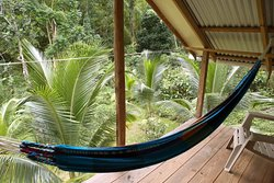 Irie cottage balcony view