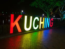 At night Kuching come alive especially at the waterfront. Everything there tonight on 06/06/19 was fantastic. We enjoy our night out with the magnificent water show near the Parliament House and the view from the bridge was fantastic as you can see both and be at the middle of north and south part of Kuching at the same time without needing to get a taxi or grab to get there. Our night was a lovely night that we both will not going to forget. Kuching is a lovely places for couple to be n relax.