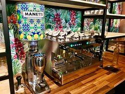 Italiaanse espresso's
