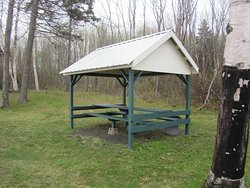 Picnic Shelter accessed by Walking Loop