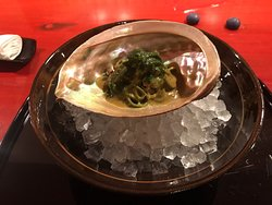 Abalone with Soba