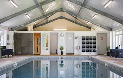 Indoor Heated Swimming Pool and Sauna