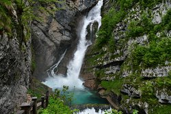 Waterfall Savica
