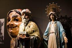 En el Museu dels Sants se pueden ver todo tipo de imagería religiosa y festiva.