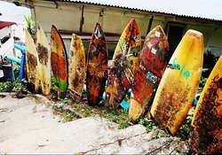 Bingin beach the surfing paradise