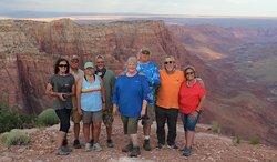 All of us .. at Paria River Canyon (Grand Canyon). Thanks again Mark!!!